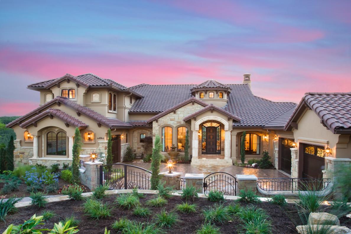 custom-home-mediterranean-exterior-fantastic-design-ideas