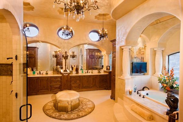 Mediterranean Bathroom Design | 20 Best Mediterranean Bathroom Designs