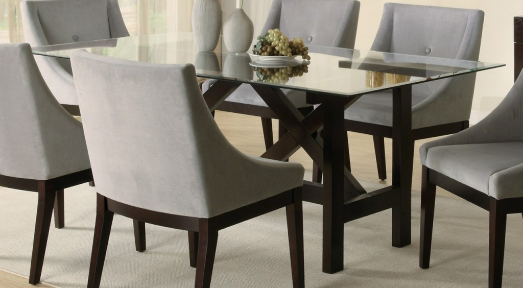 design-ideas rectangular-brown-glass-tables