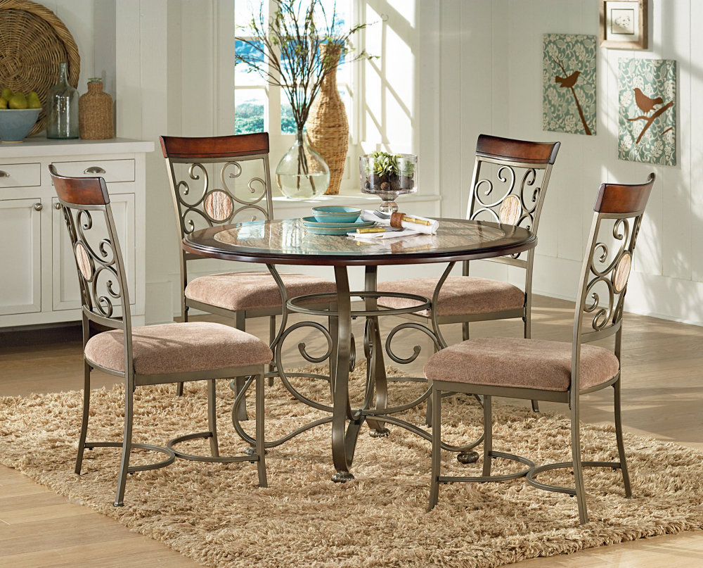 25 best dining room sets for your home for Small black dining table set