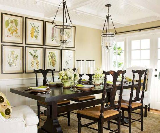25 best farmhouse dining design for Elegant farmhouse plans