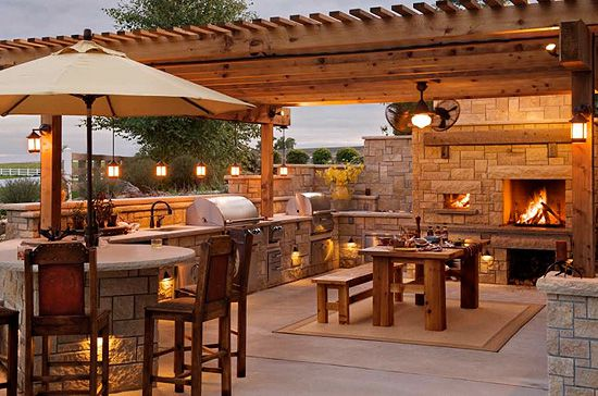Elegant Rustic Outdoor Decoration