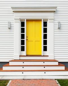 15 Stunning Midcentury Entry Designs