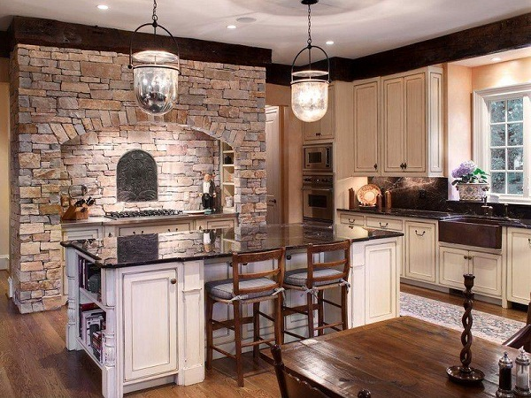 21 best farmhouse kitchen design ideas for Farm style kitchen designs