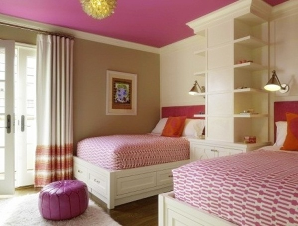 20 stunning farmhouse kids bedroom design ideas - Childrens bedroom wall painting ideas ...