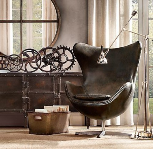 industrial-living-rooms