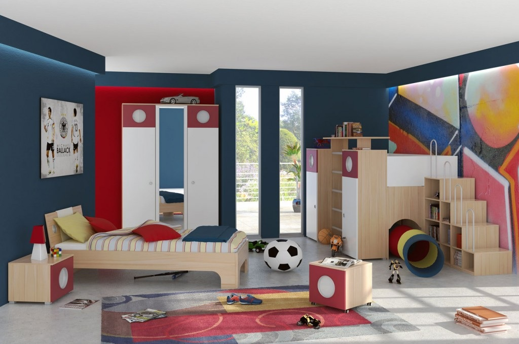 Kids Bedroom Design With Interior Design With Fashionable