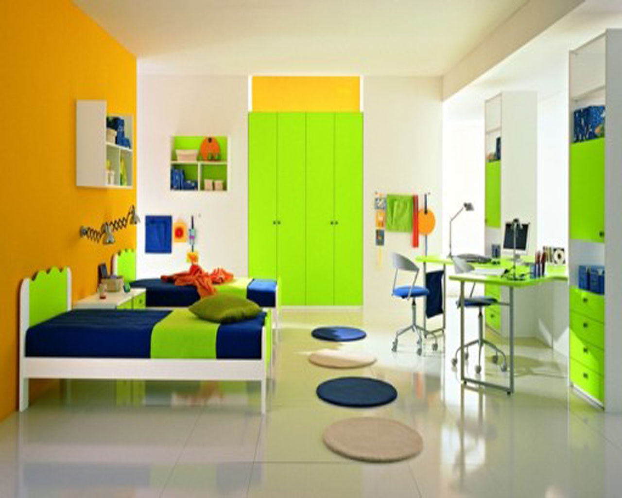 kids-room-decoration-ideas-of-green-home-exterior-interior-cool-boys-and-kids-bedroom-for-zen-landscape