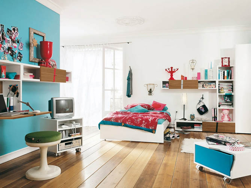 lovely-cadetblue-bedroom-corner-shelf-functional-fashionable-design-inspiration-interesting-designs-kids-ikea-furniture-ideas-modern-stylish-chic-study-table-unique-ornament-home