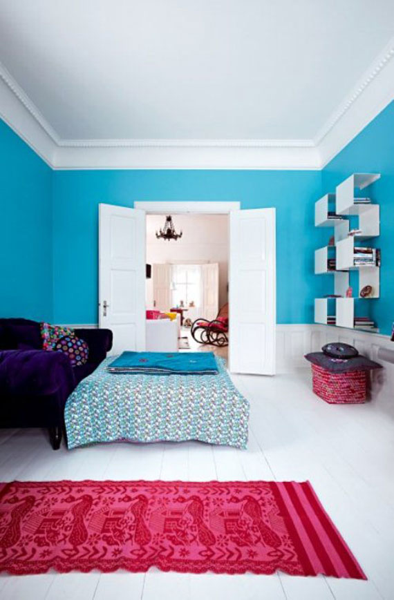21 bright color combination ideas for bedroom 18381 | lovely modern colorful bedrooms bright bedroom colors