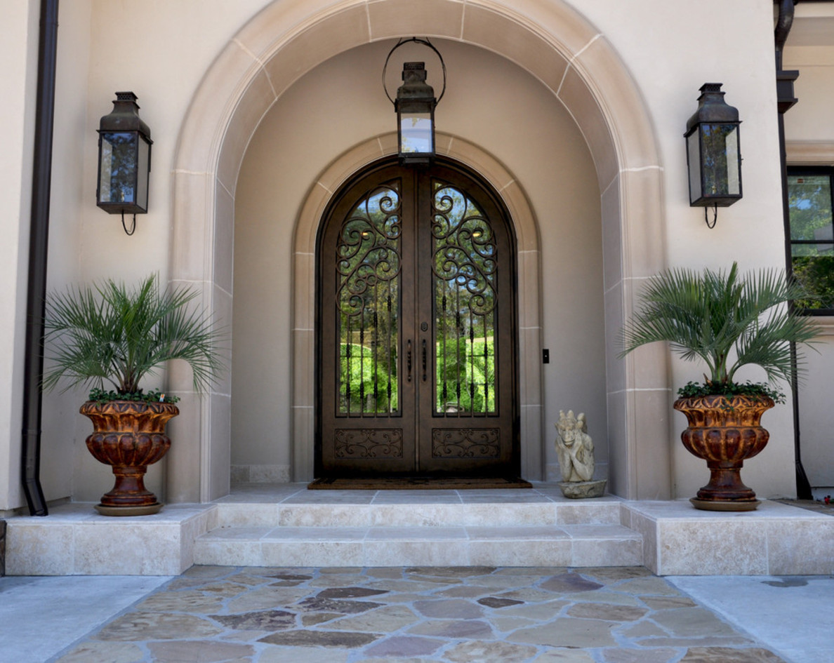 20 incredible mediterranean entry design for Exterior entryway designs