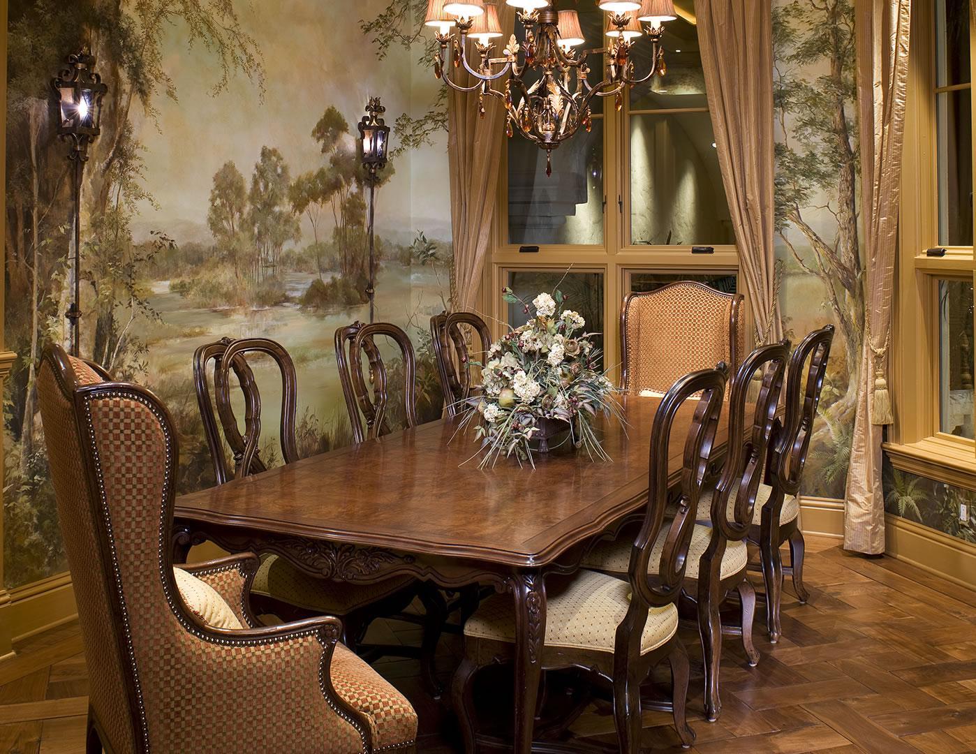 Mediterranean Formal Dining Room
