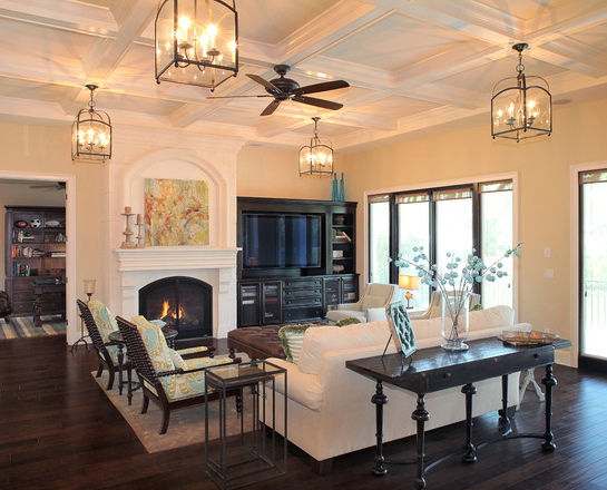 30 Amazing Mediterranean Living Design Ideas on Craftsman Open Floor House Plans