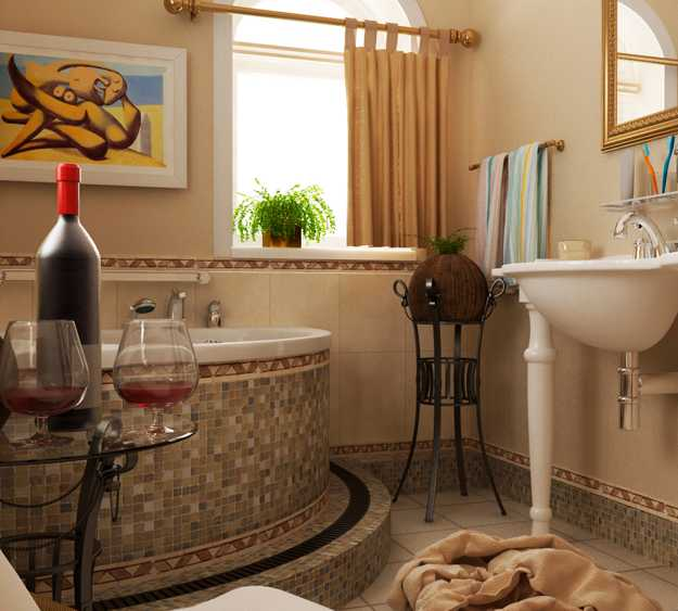Mediterranian Style Home Decorating Ideas Room Colors 6