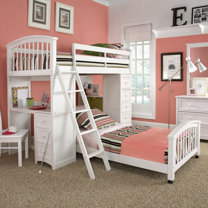 mid centuary kids bedroom