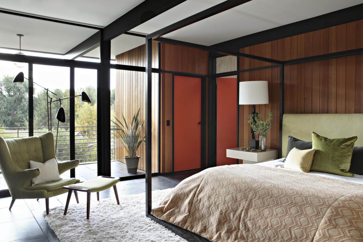 mid century modern bedroom ideas