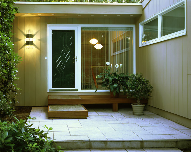 15 stunning midcentury entry design for Mid century porch light