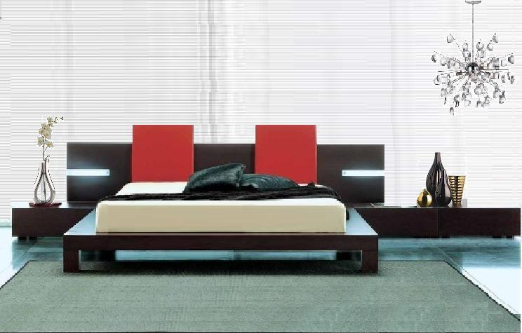 modern-bed platform style