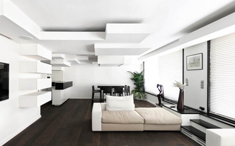 Modern Ceiling Design For Small Living Room - Living Room Ideas