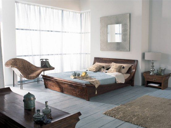 Exotic Traditional and Ancient Indian Living Room and Bedroom Furniture Design by La Maison Coloniale