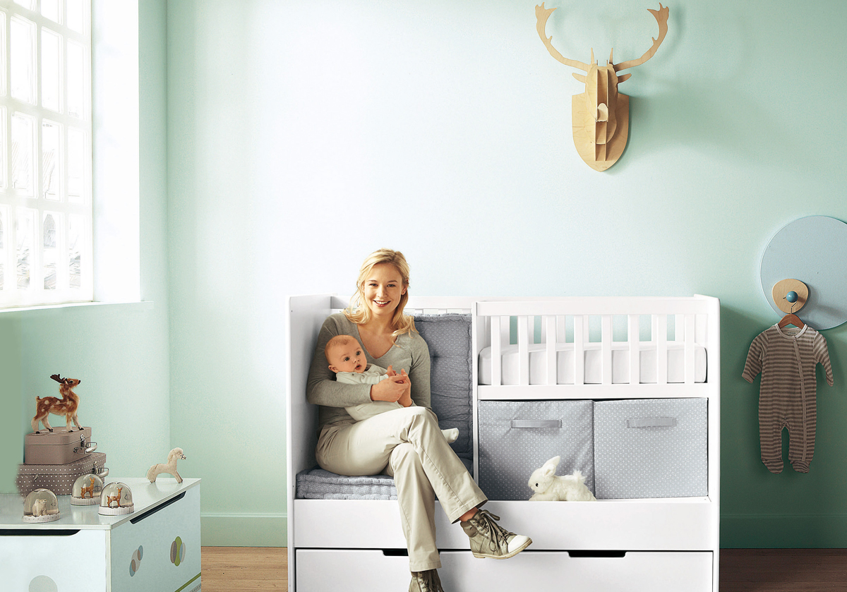 25 cute and attractive baby nursery design ideas Baby Room Design Ideas