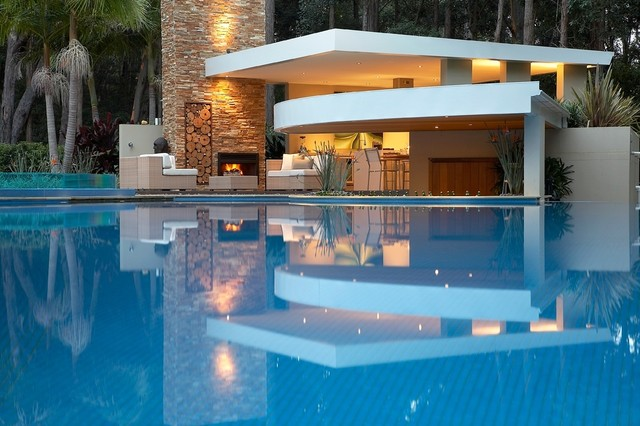 15 awesome pool bar design ideas for Pool design with bar