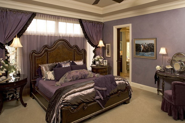 41 fantastic transitional bedroom design for Romantic master bedroom designs
