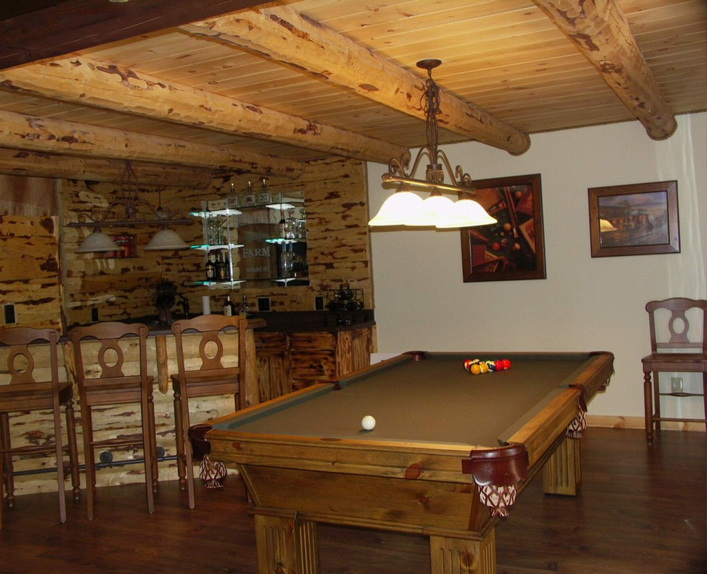 15 outstanding rustic basement design for Rustic basement