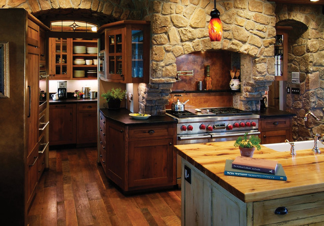 rustic-kitchen-dark