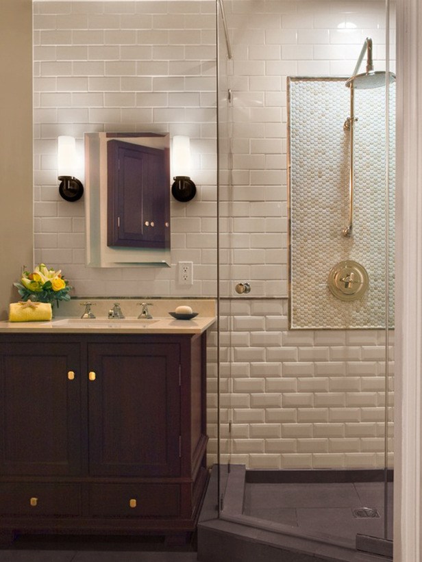 Transitional Bathroom Design Q