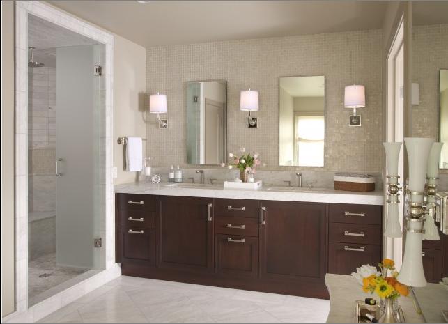 transitional bathroom designs