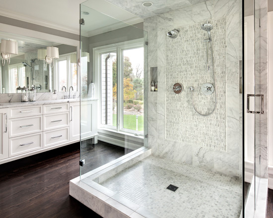 21 Outstanding Transitional Bathroom Design