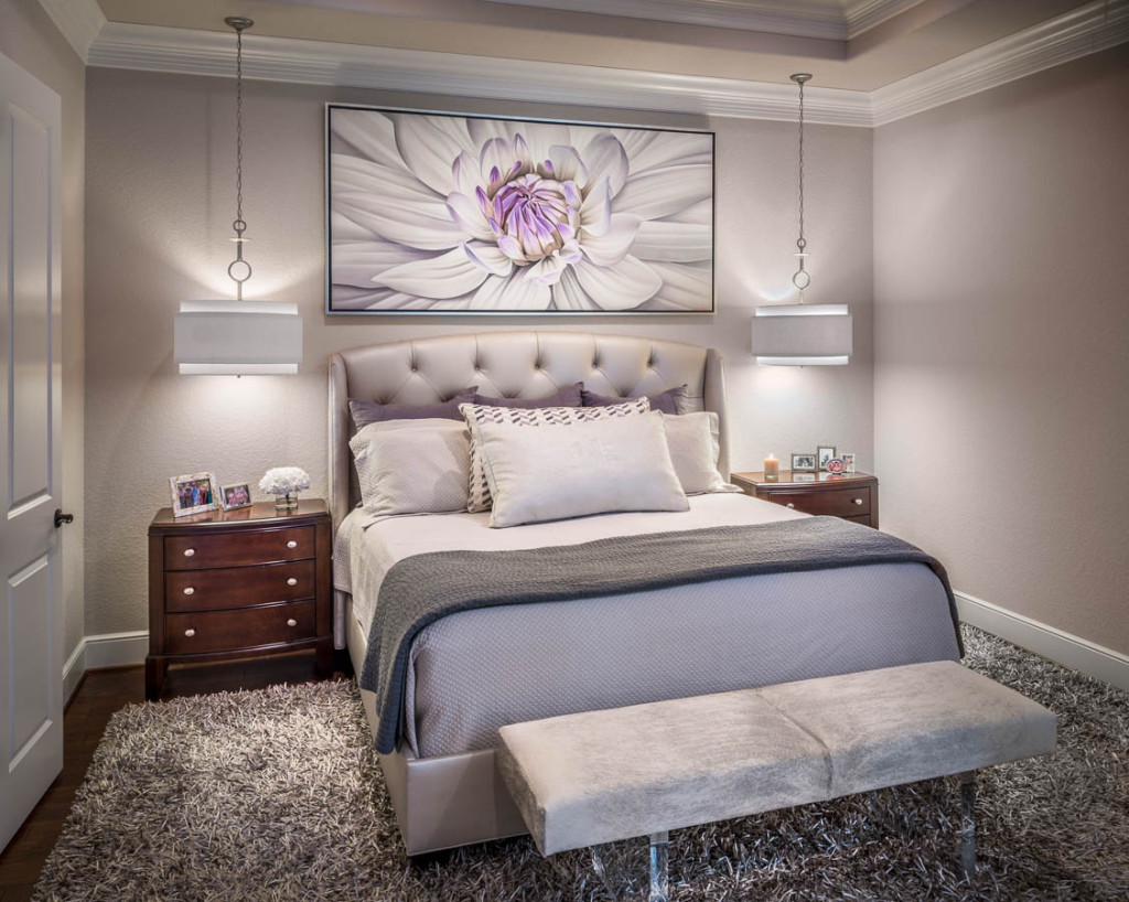 41 fantastic transitional bedroom design for Designer bed pics