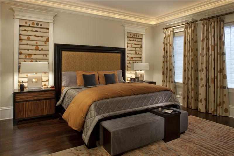 Transitional Bedroom Decorating Ideas Part - 24: Transitional-eclectic-classic-bedroom-