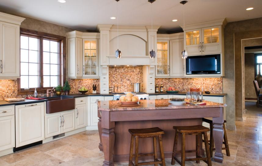 30 incredible transitional kitchen design for Transitional kitchen design