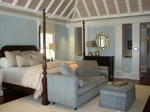 transitional bedroom design. Transitional-residential-master-bedroom-interior Transitional Bedroom Design A