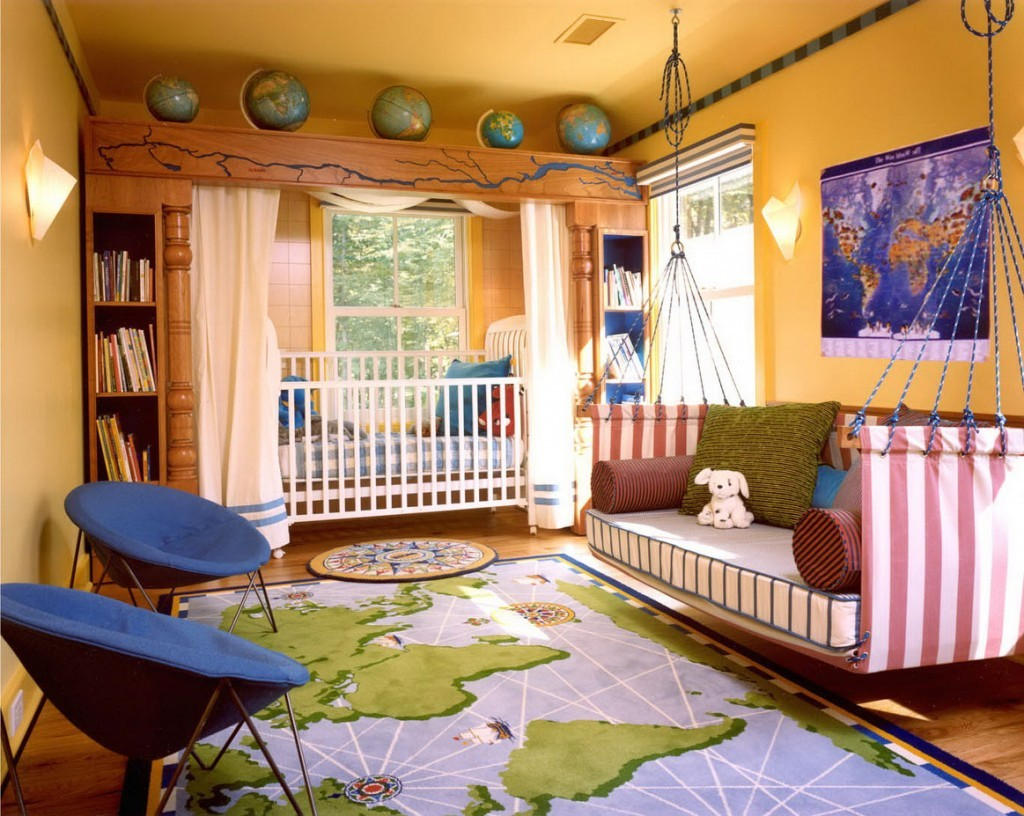 transitional__kids_bedroom_decorating_ideas