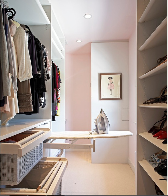 walk-in-closet-idea-ironing-board