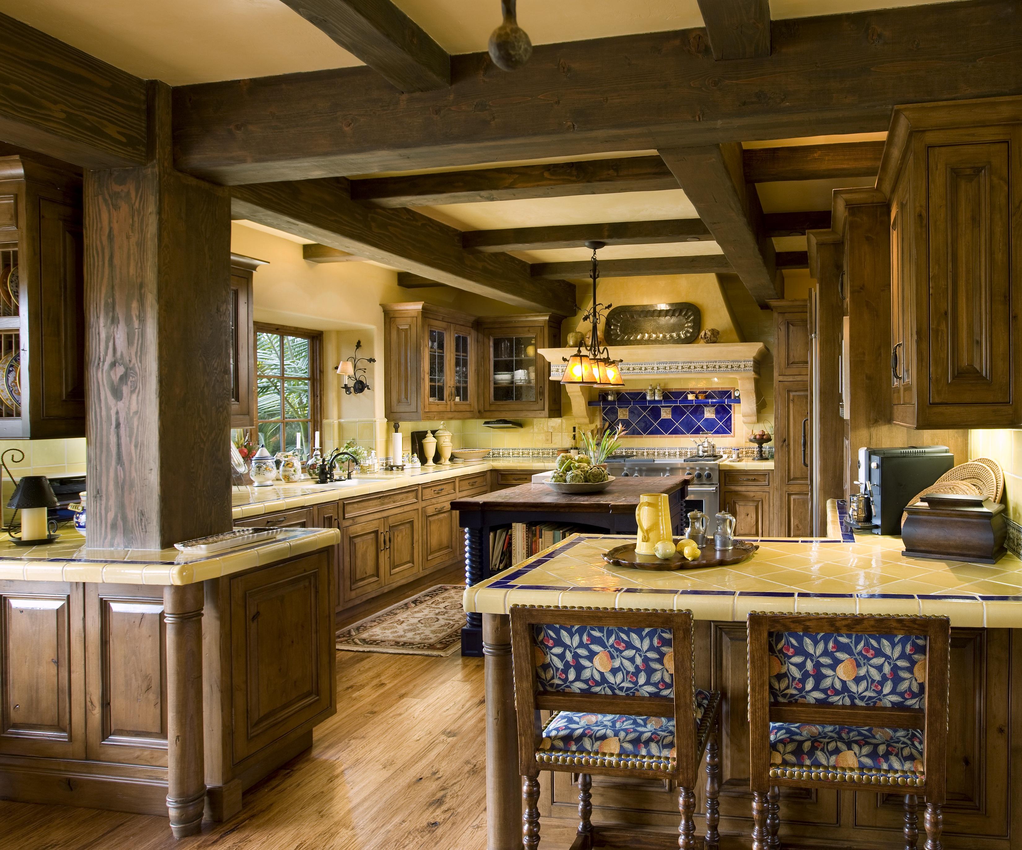 wooden-furniture-of-mediterranean-kitchen-design-1-Boutique-Homes-Mediterranean-Furniture-Design