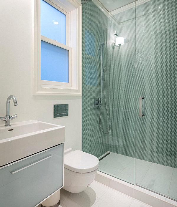 Contemporary-design-in-a-small-bathroom