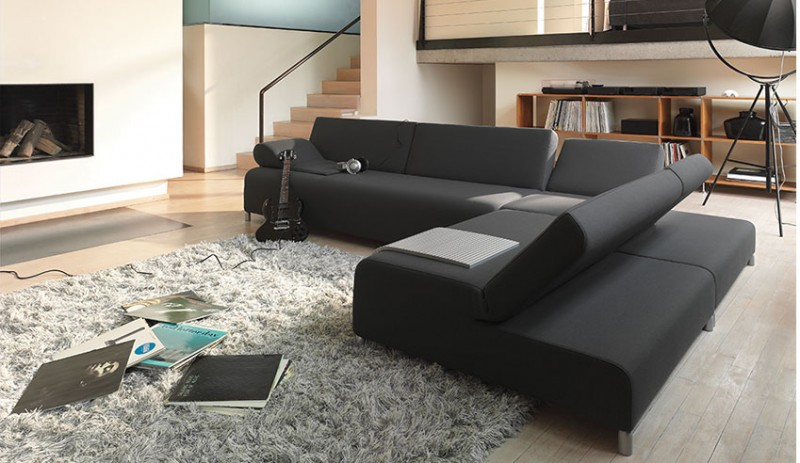 Family Room Furniture With Black