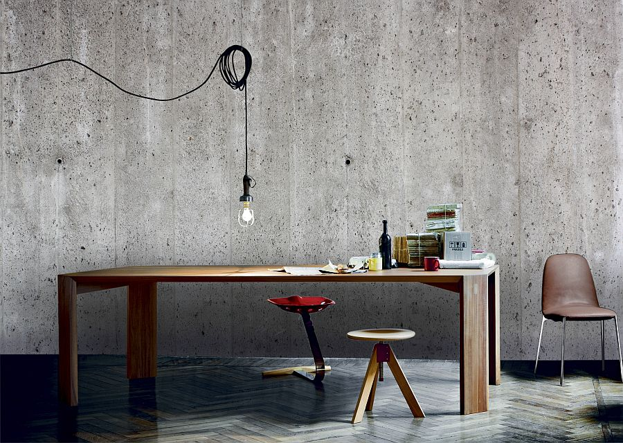 Get-an-industrial-look-with-the-concrete-wall-mural