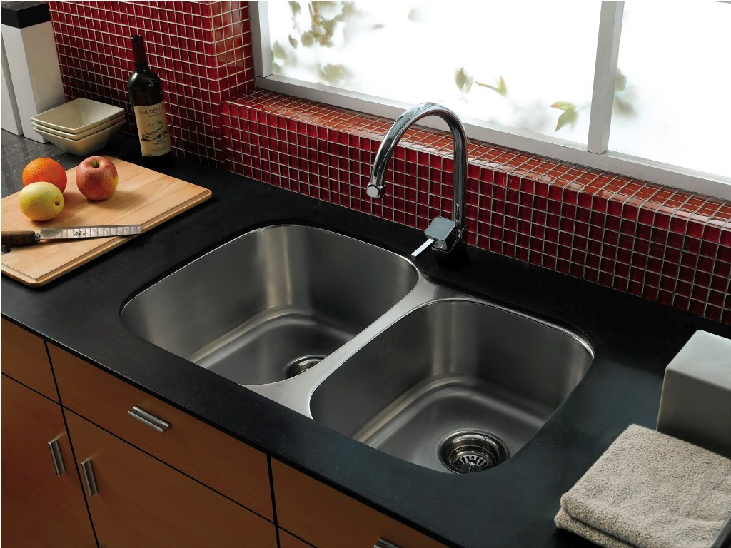 Gorgeous-Grey-Sink-with-Arch-Faucet