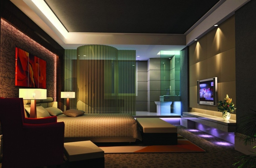 Hotel-style-bedroom