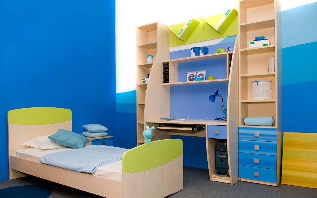 Interior Kids Bedroom