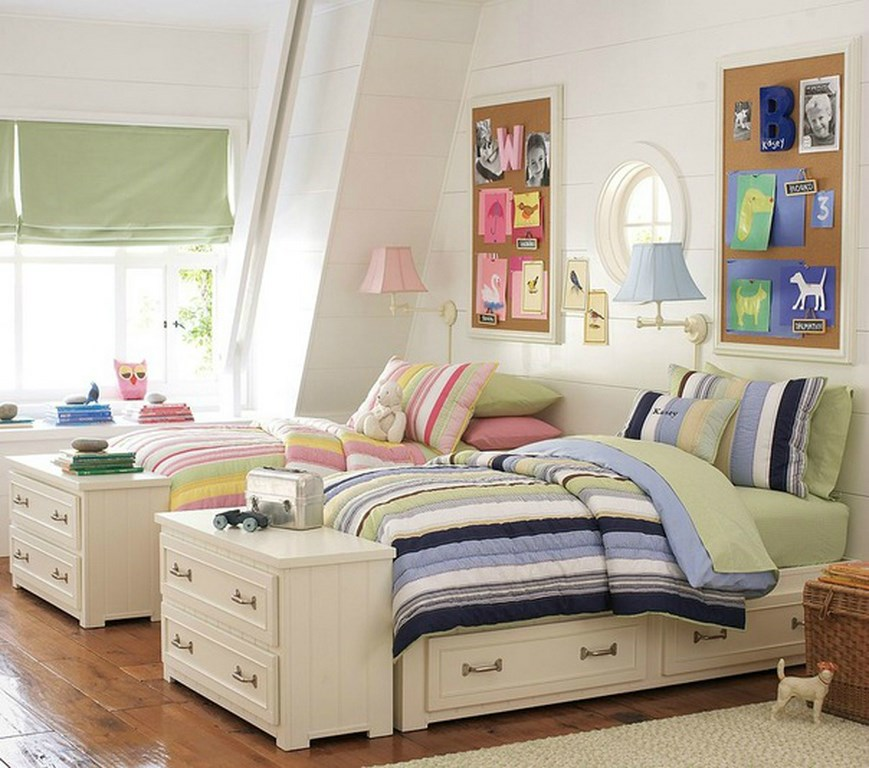 Modern Shared Boy Room: 25 Awesome Shared Bedroom Ideas For Kids