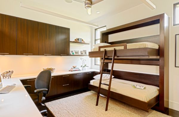 Twin-bunk-beds-that-fold-away-with-ease