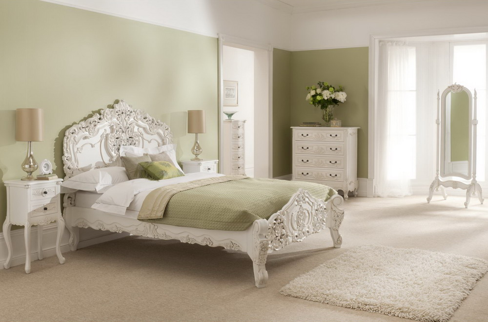 20 amazing french bedrooms design ideas for Elegant white bedroom furniture
