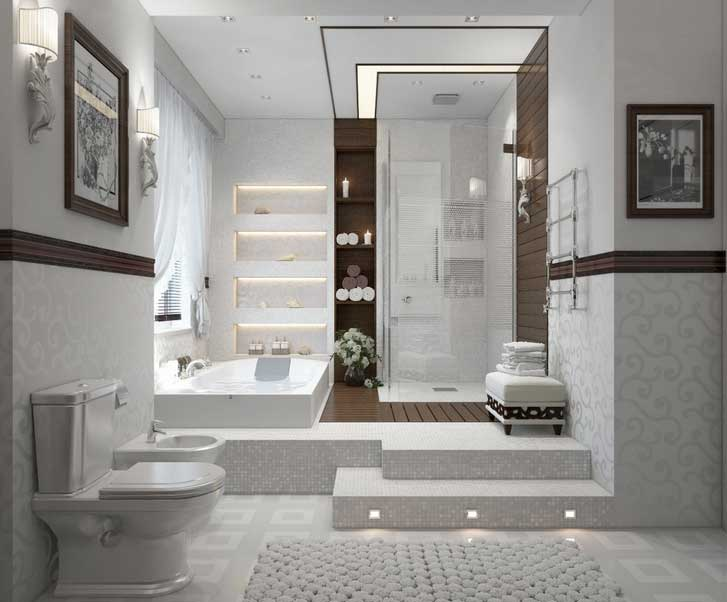 White-interior-bathroom-decoration-ideas-with-bathroom