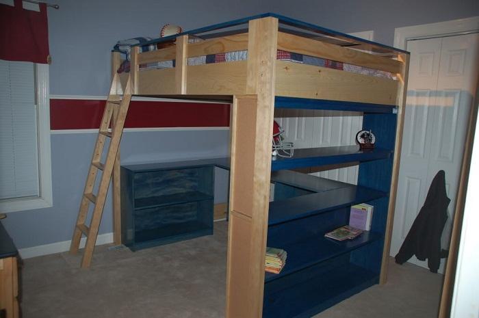 Wood-Loft-Bed-Designs